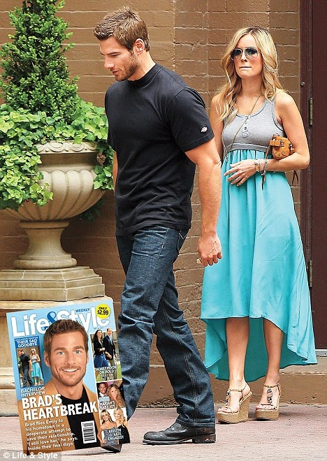 Emily Maynard's Turquoise and Gray Dress: Funktional $128.00   Maude Boutique 479-935-4700   They have two mediums left   Emily's espadrille wedges Shoes: Boston Proper (not online)