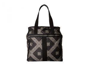 LeSportsac Luggage Large City Tote (Star Guides Black) Tote Handbags