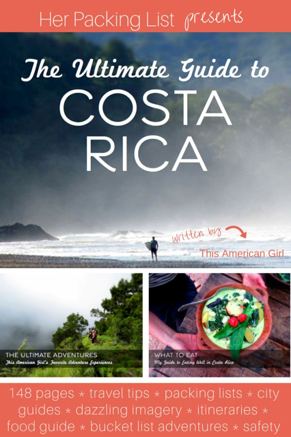 This ebook is full of inspiration for #CostaRica- brilliant photos, personal recommendations and interesting itineraries.