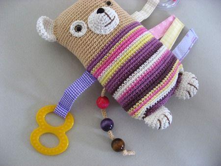 Crochet Activity bear