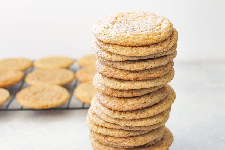 Soft and Buttery Snickerdoodles// Kathryn's Kitchen Blog