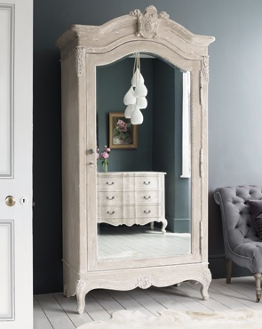 Mirrored wardrobe is the way to go for that small room!