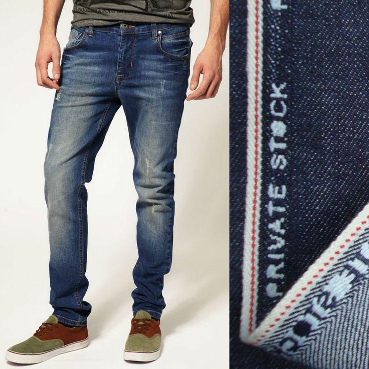 #man jean, #denim jean, #cheap denim jeans for men 2013 New style cheap skinny denim jeans for man with selvedge fabric