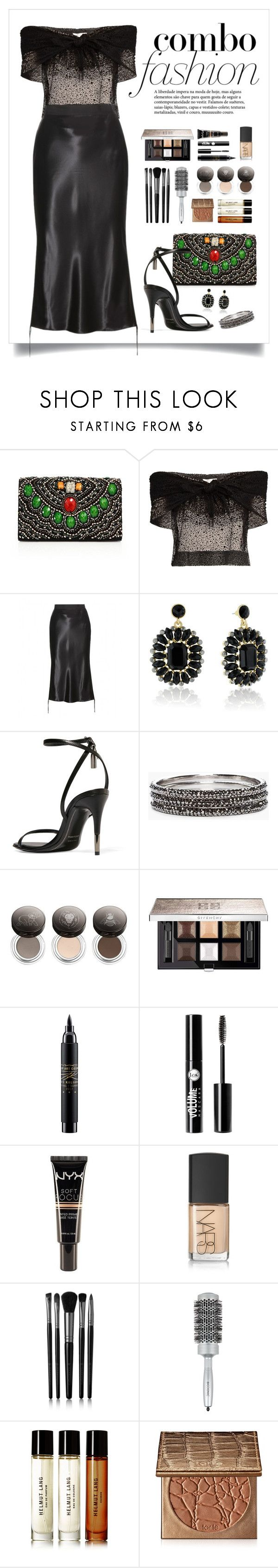 """""""Untitled #213"""" by starshineb ❤ liked on Polyvore featuring Alice + Olivia, Isa Arfen, Alexander Wang, Tom Ford, Chico's, Chantecaille, Givenchy, MAC Cosmetics, Charlotte Russe and NYX"""