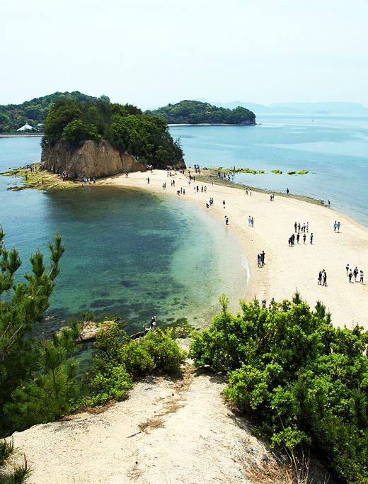 Angel Road Shodo Island,  Kagawa Prefecture, Japan