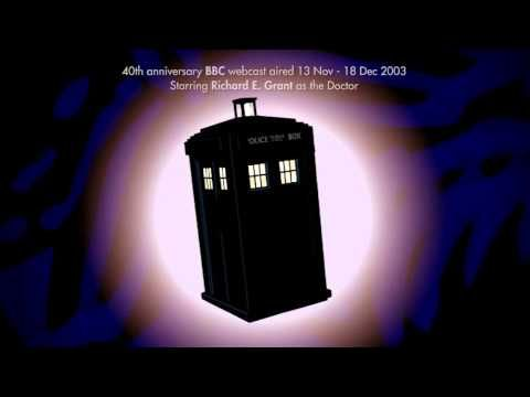 The Doctor Who bonus themes 1963 - 2013 (movies, spin-offs, charity specials, webcasts, and rejected versions)