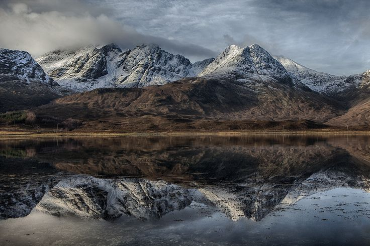 Blaven from Loch Slapin by Peter  Hallam on 500px