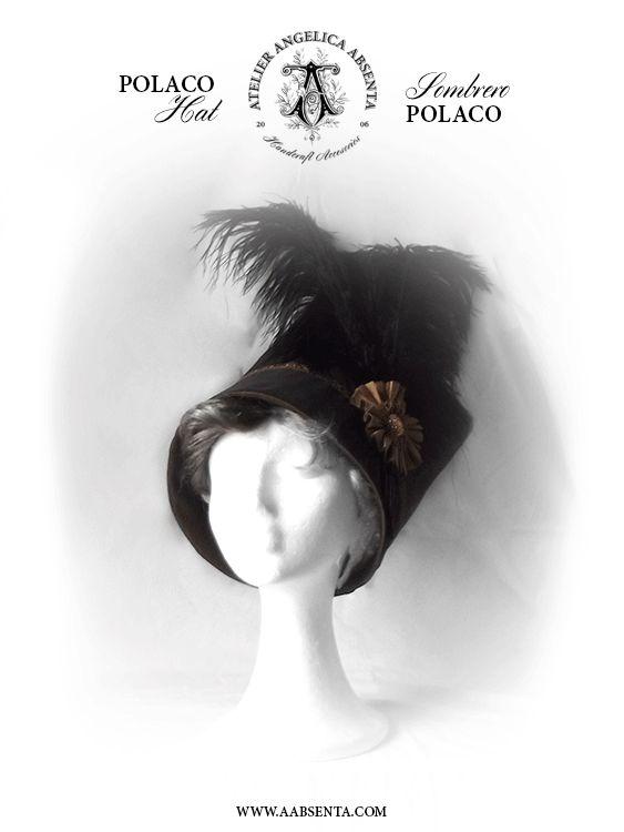 Regency POLACO hat shako More info: http://www.facebook.com/angelicaabsenta