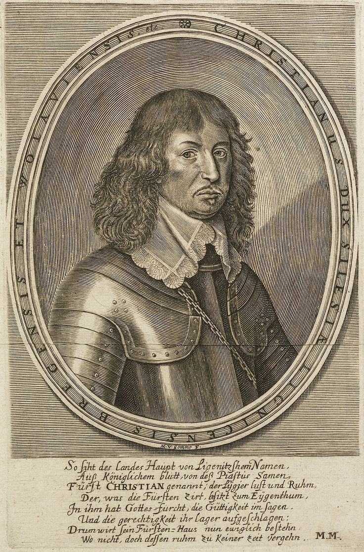 Christian, Duke of Liegnitz-Brieg-Wohlau (Legnica-Brzeg-Wołów) by Matthias van Somer, ca. 1653 (PD-art/old), Royal Collection Trust