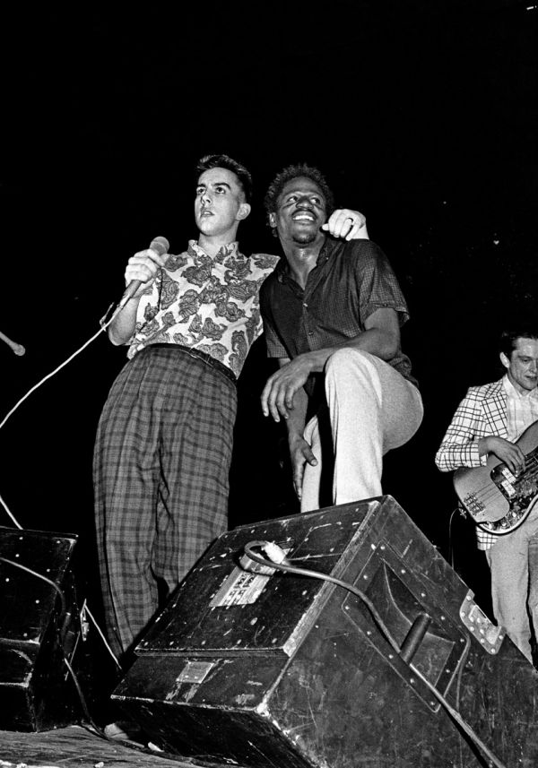 Syd Shelton | Terry Hall and Neville Staple, The Specials, Leeds, 1981 |Autograph ABP