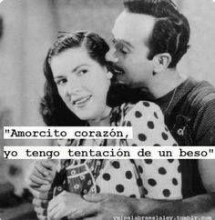 """Bella pareja de """"La Chorreada"""" y Pepe """"El Toro"""" en la famosa película Nosotros los pobres y su segunda parte Ustedes los ricos. Y su canción Amorcito corazón."""