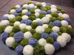 oltre 10 fantastiche idee su tappeto di pom pom su pinterest