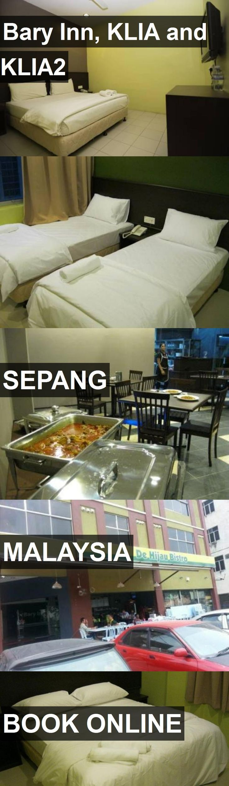Hotel Bary Inn, KLIA and KLIA2 in Sepang, Malaysia. For more information, photos, reviews and best prices please follow the link. #Malaysia #Sepang #travel #vacation #hotel