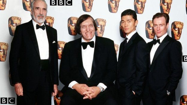 Christopher Lee, Richard Kiel, Rick Yune and Toby Stephens (all former James Bond villains).