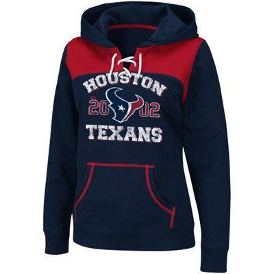 Houston Texans Ladies Preseason Favorite III Pullover Hoodie