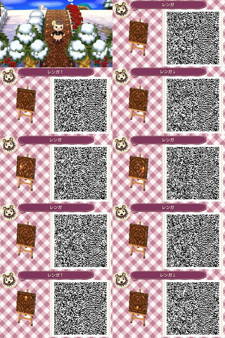 animal crossing qr code design pattern - Google Search