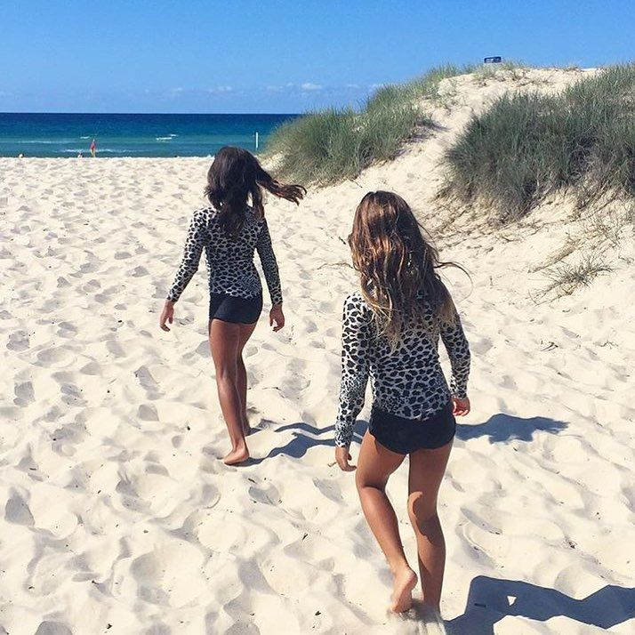 • Our Oceana Blue Sea Leopard swimsuits have just been restocked up to 9 years! •  www.tinystyle.com.au   #swimwear #TinyStyle #Noosa #fashion