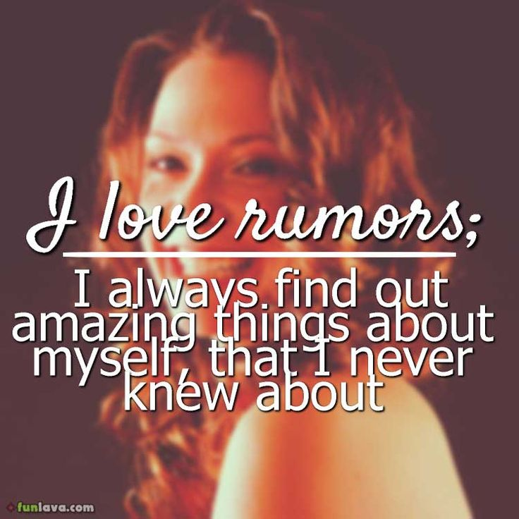 i-love-rumors -  quotes about rumors