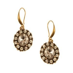 GOLD EARRINGS - glass, metal, alloy, lead, nickel, cadmium, free, ... - Four Corners | Online Boutique Fashion Jewellery