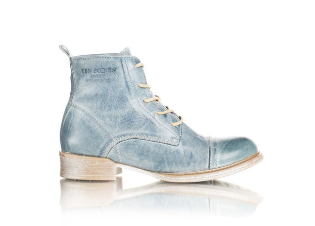 Faded blue boots Ten Points Sweden