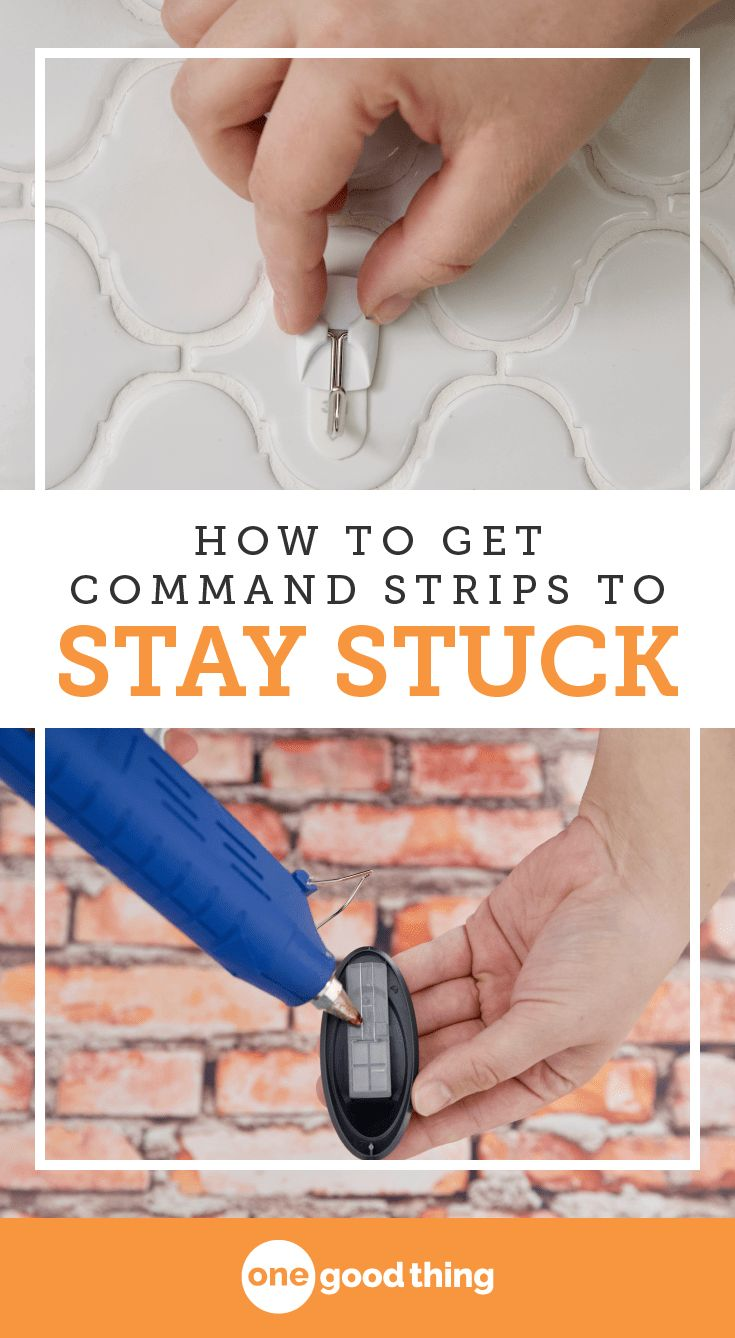Command strips are an easy and damage-free way to hang things around the house. But there are a few issues you might run into if you're not careful! Check out these tips & tricks that will help you master the use of any Command product. #hacks #tipsandtricks #organize