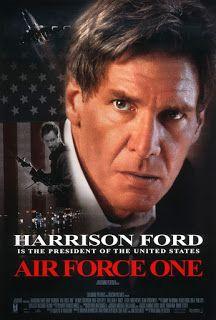 Air Force One (El avión del presidente)con Harrison Ford, Gary Oldman y Glenn Close Película para no tomarsela muy en serio y no pensar en lo que te están presentando, porque sino parecería una película de ciencia ficción en vez de lo que verdaderamente es, una película de acción, en la que los buenos son muy buenos y los malos son los peores...