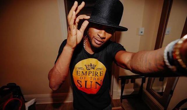 Usher wearing an Empire of the Sun t-shirt | ARIA Awards #united by music :: Onya Magazine #onyamag