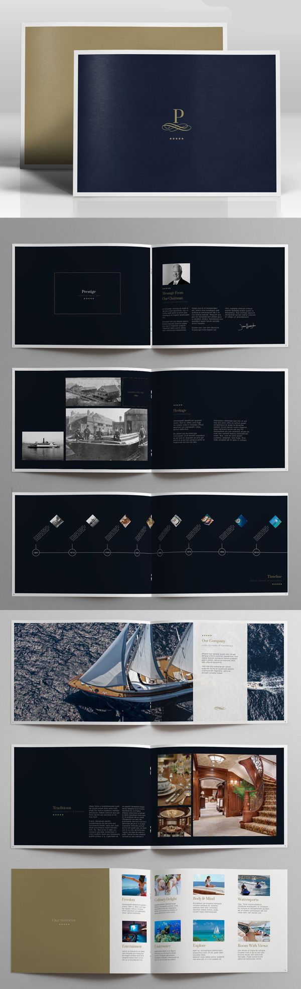 New Brochure Templates Catalog Design | Design | Graphic Design Junction
