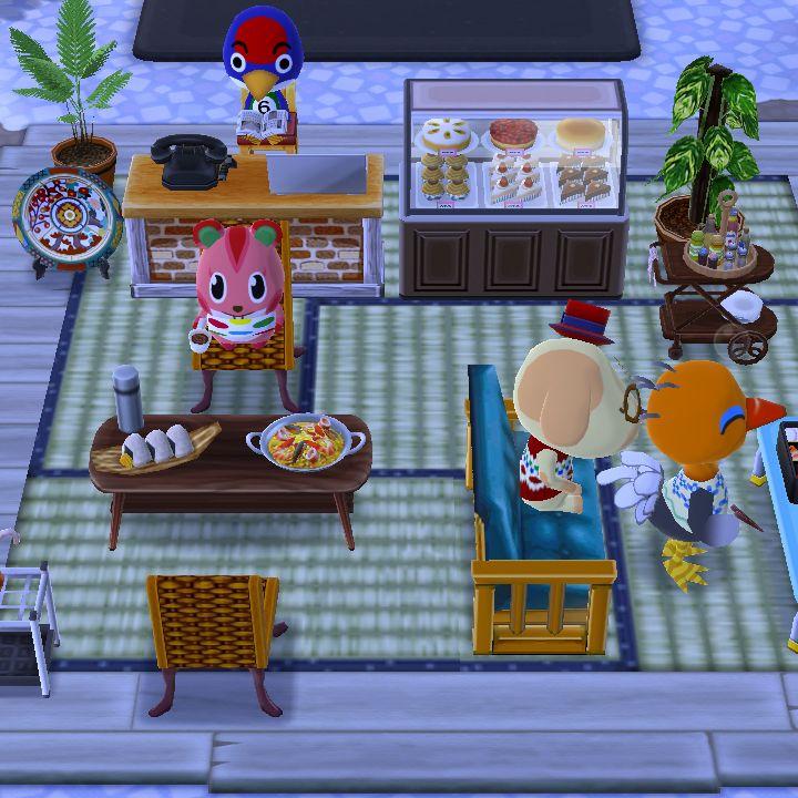 Pocket Camp Cafe Design Animal Crossing Animal Crossing Cafe Design Animals
