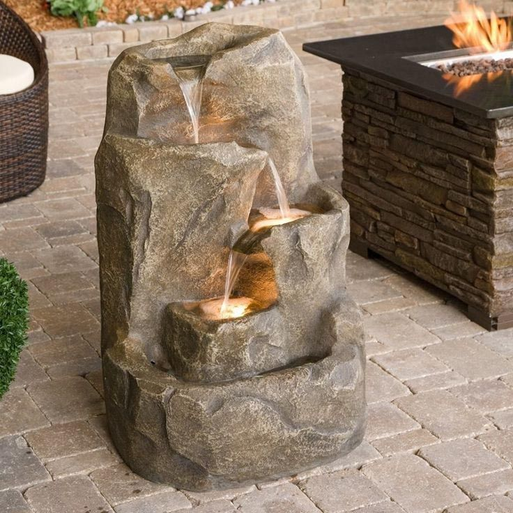 Indoor Outdoor Waterfall Fountain