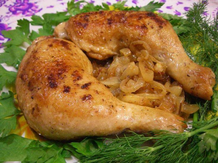 Куриные ножки жареные на сковороде