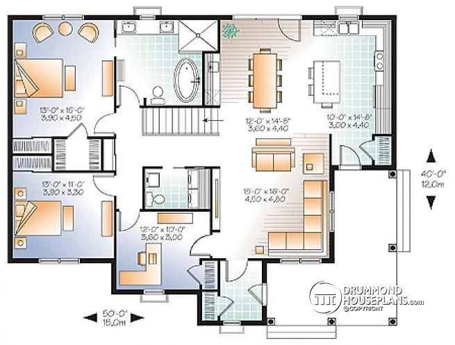 Tiny Home Designs: Pin By Drummond House Plans On Traditional House Plans And