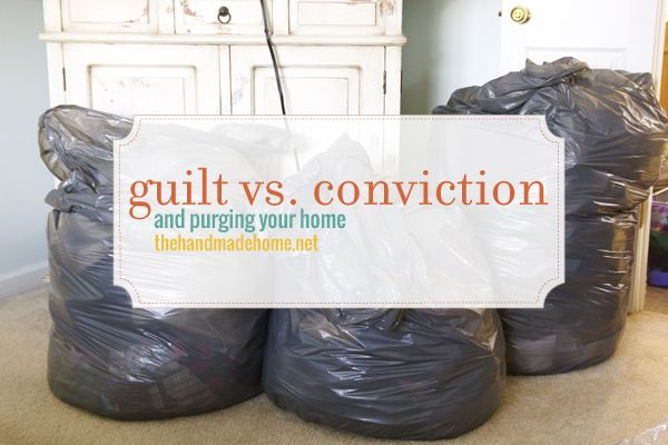 Fabulous series on purging from your home-- NEED to read so y know why you can't get rid of all the JUNK!
