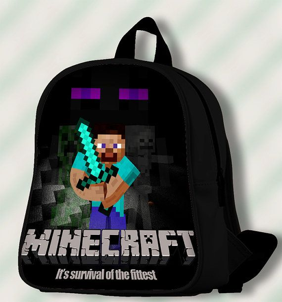 Minecraft Its Survival of The Fittest  Custom by SmileSchoolBags