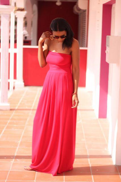 red maxi dress 8 hr