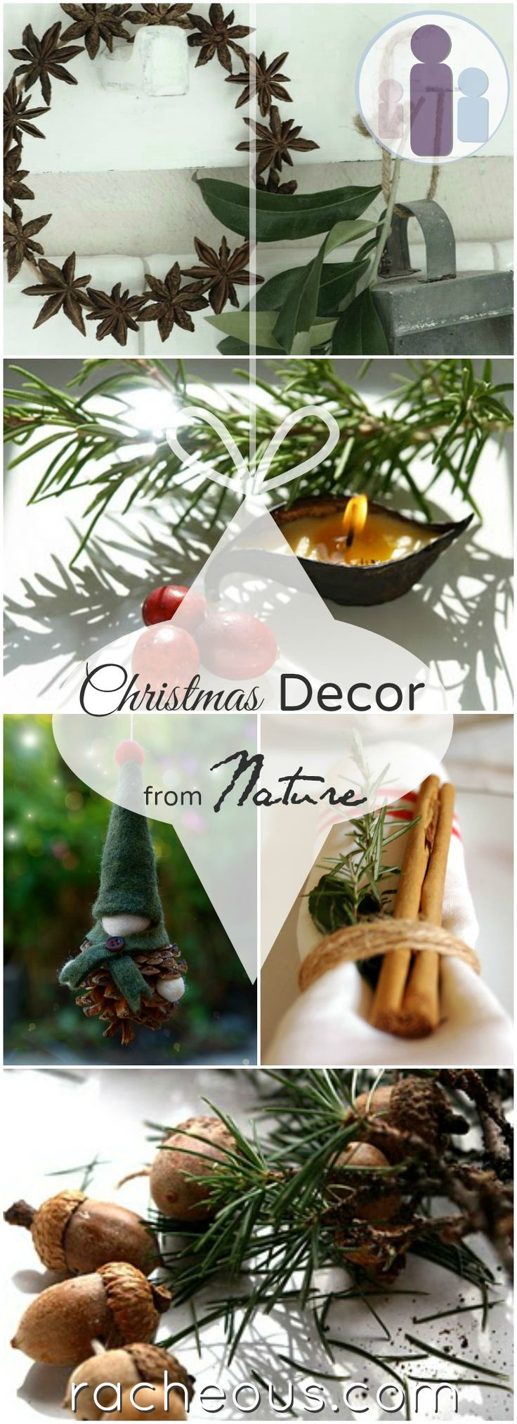 Christmas decor from nature See more at http://blog.blackboxs.ru/category/christmas/