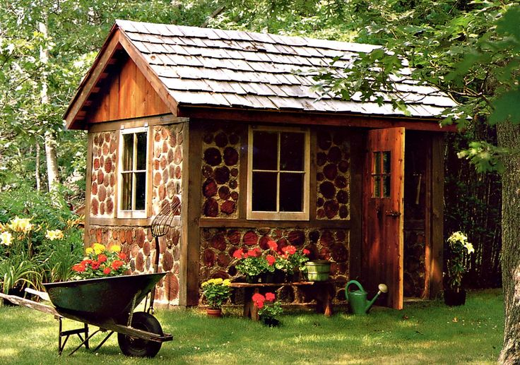 cordwood house | ... at my heart strings oh how i would love to build a cordwood house