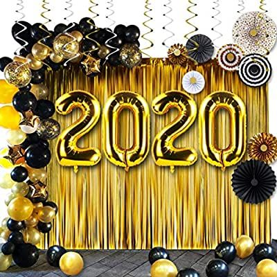 Amazon.com: New Years Eve Party Supplies 2020,Graduation ...