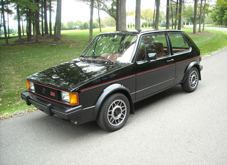 The original GTI, a sweet ride that proves it doesn't have to cost a lot or have a huge amount of horsepower to be a great driver's car.