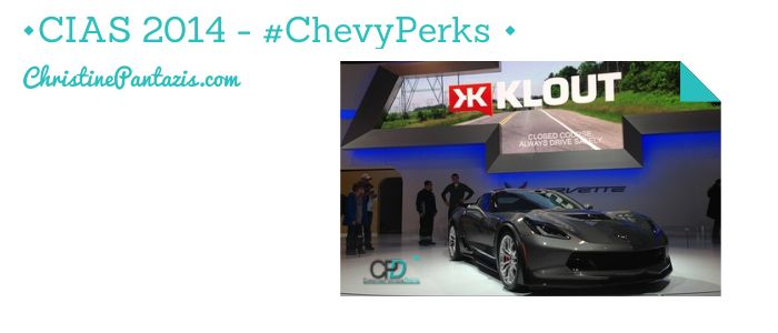 #CIAS – Thanks to @Klout and #ChevyPerks
