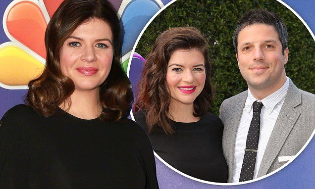 Casey Wilson gives birth to her first child with husband David Caspe