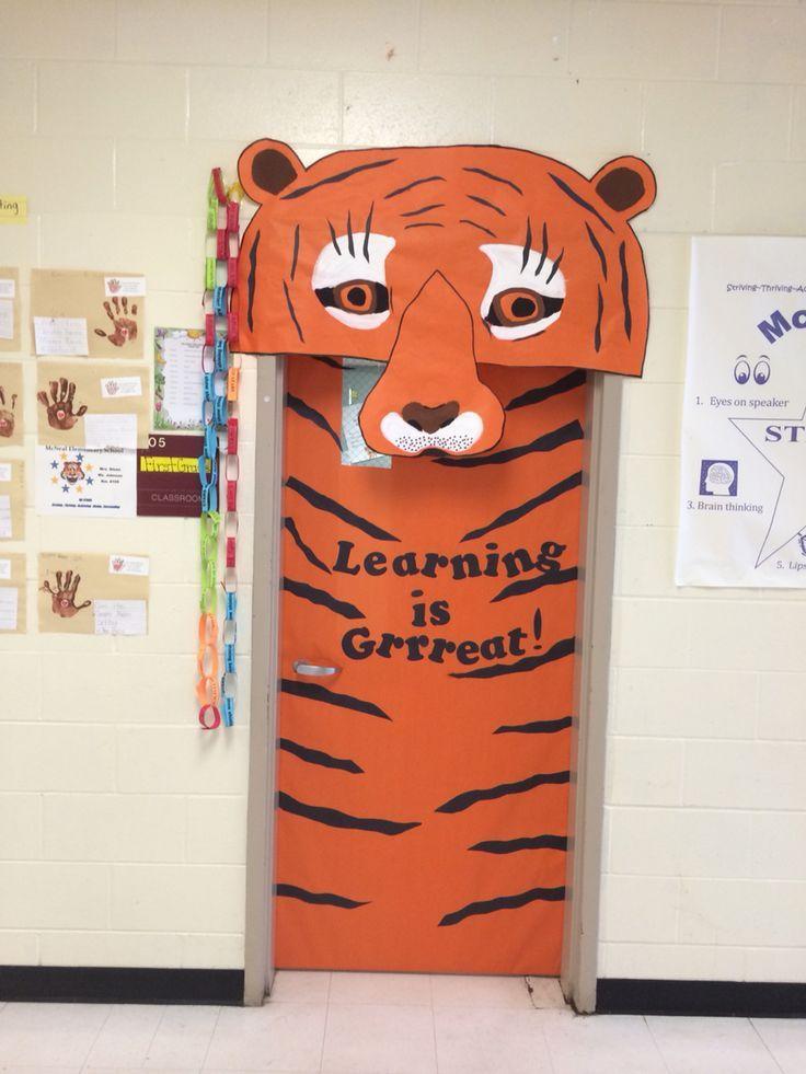 tiger classroom door - Cerca amb Google