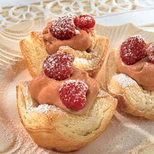 ... Farm® Puff Pastry - Recipe Detail - Chocolate Raspberry Mousse Cups