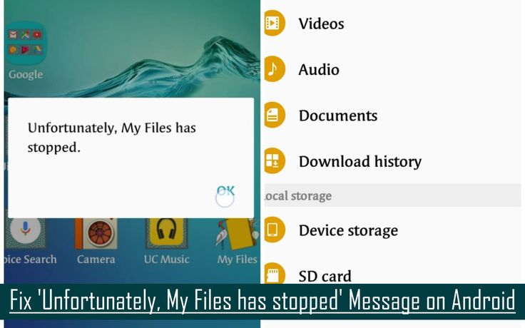 #Fix '#Unfortunately, My Files has stopped' Message on #Android.  Clear Cache and #Data of My files. Reset App Preferences. Clear Data of Download Manager. #FactoryReset your #AndroidDevice.