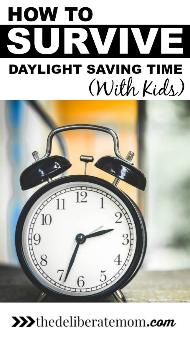 A time change with kids can be torture. Whether you're springing forward or falling back, here are some tips to survive daylight saving time with kids.