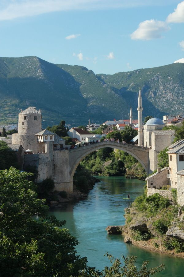 Bridge of Mostar by Michiel Ottevanger, via 500px - Bosnia and Herzegovina