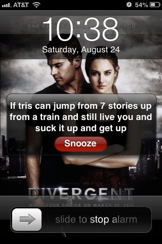 I like this idea, but my main problem with this is that someone set an alarm for 10:38.