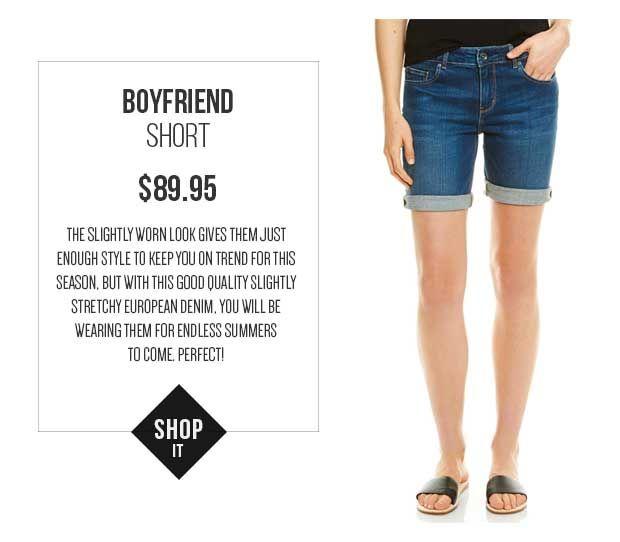 JAG Boyfriend Short