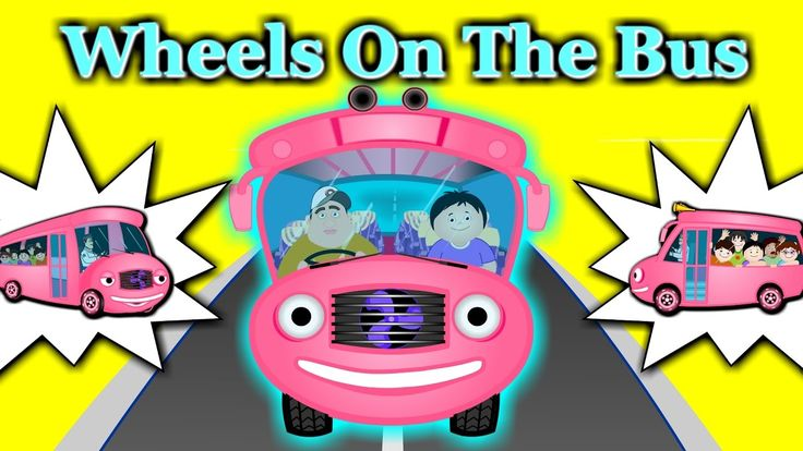 Wheels On The Bus Nursery Rhyme | Plus Lots More Nursery Rhymes For Chil...