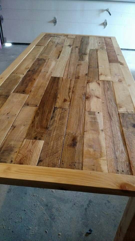 Pallet dining table by Salmon Creek Woodworks